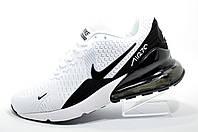 Белые кроссовки в стиле Nike Air Max 270, мужские White\Black