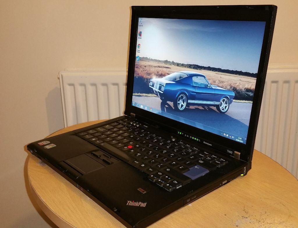 Ноутбук LENOVO T400 (2 ядра по 2,26 Ггц,2 Гб ОЗУ DDR-3, 80 Гб HDD).Гарантия 30 дней