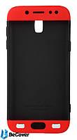 Панель Super-protect Series BeCover для Samsung J5 (2017) J530 Black-Red (701604)