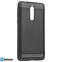 Панель Carbon Series BeCover для Nokia 8 Gray (701988)