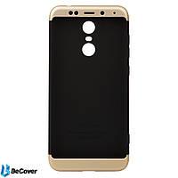 Панель Super-protect Series BeCover для Xiaomi Redmi 5 Plus Black-Gold (701890)