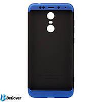 Панель Super-protect Series BeCover для Xiaomi Redmi 5 Plus Black-Blue (701889)