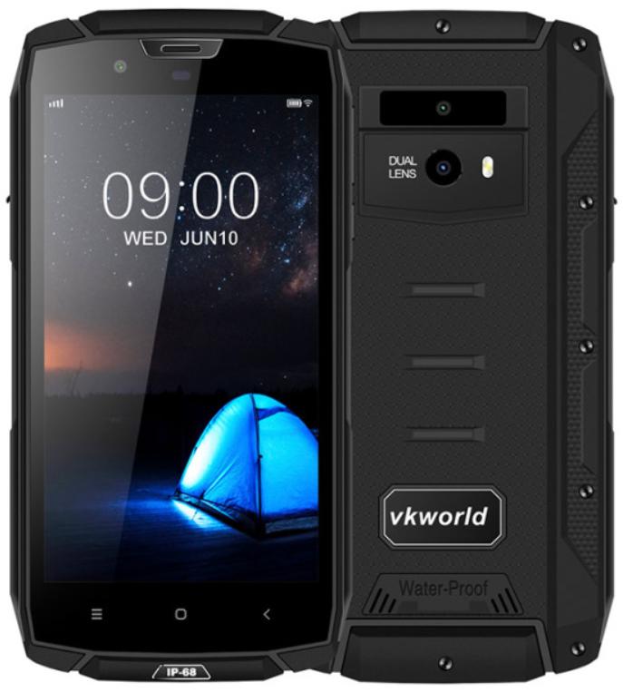 Vkworld Vk7000 4/64 Gb black ip68