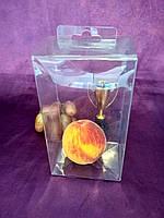 Коробка пластиковая, высечная, прозрачная из РЕТ пластика