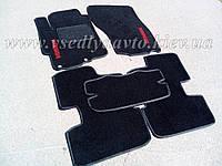 Текстильные  коврики в салон MITSUBISHI Lancer X с 2007 г. (Черные)