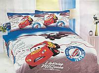 Детское постельное белье 160х210 Сатин Тачки 212006
