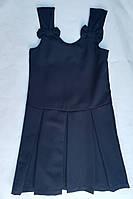 Детскийшкольный сарафандля девочки 6-9 лет, синий