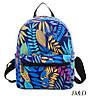 Женский мини-рюкзак с пальмовыми ветками