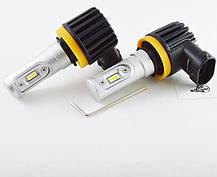 LED лампы в головной свет серии SLC10  Цоколь H11/H8/H9, 16W, 2400 Люмен/Комплект, фото 3