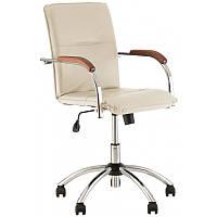 Офисное кресло для персонала Samba GTP V-18 1.007 бежевый кожезаменитель