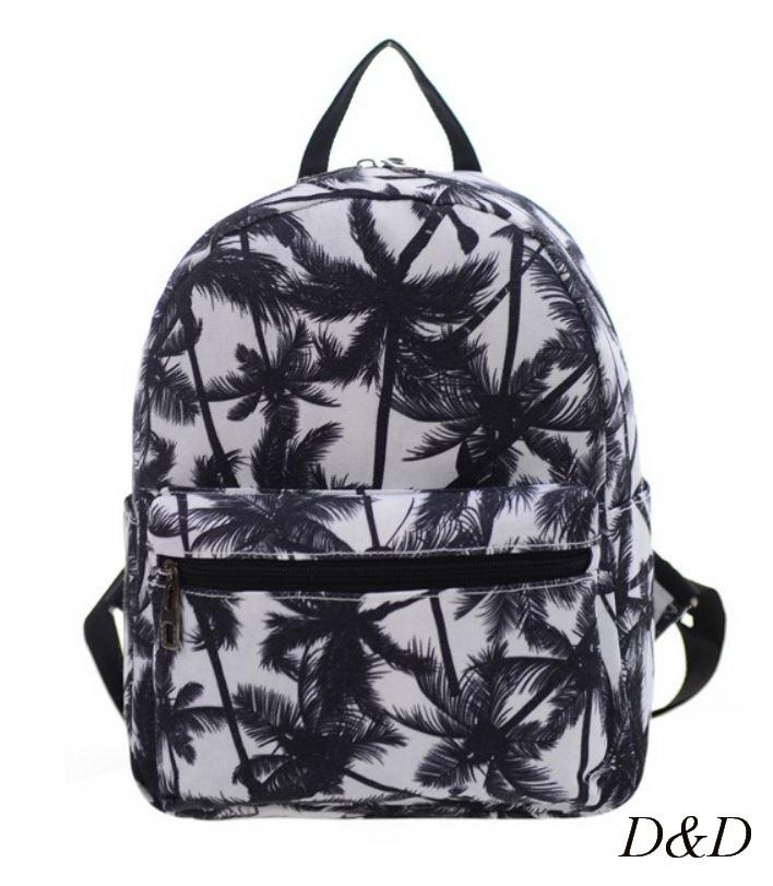Жіночий міні-рюкзак з пальмами