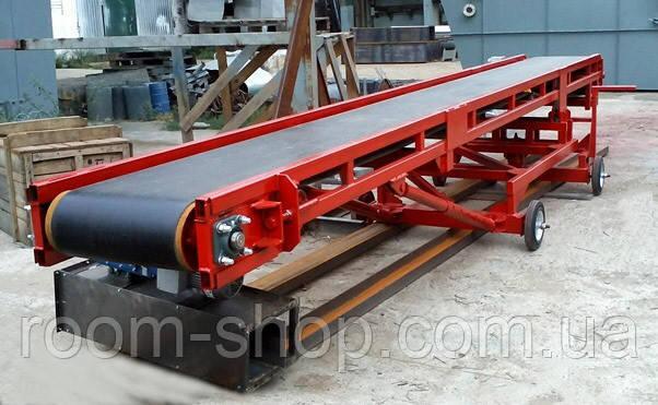 Ленточный транспортер (конвейер) ширина 500 мм длинна 2 м.