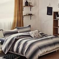 Двуспальное (евро) постельное белье 200х220 Французский лен Prestij Textile 76179