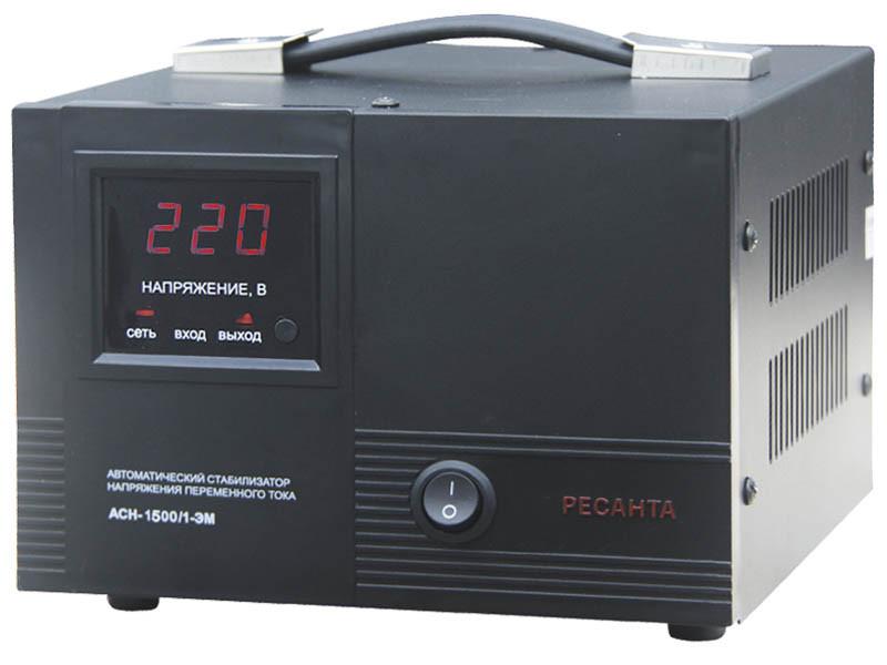 Стабилизатор напряжения Ресанта АСН-1500/1-ЭМ