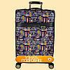 Дорожный чемодан искусственная кожа , фото 4