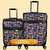 Дорожный чемодан искусственная кожа , фото 6