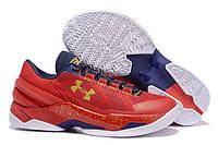 Мужские кроссовки Under Armour Curry 2 Low Floor Красные