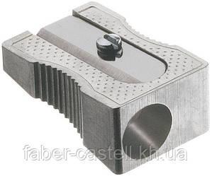 Точилка металлическая без контейнера Faber-Castell одинарная , 183100