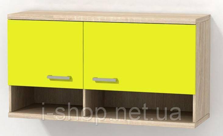 Шкаф навесной Гламур 2  1200х400х450 мм.