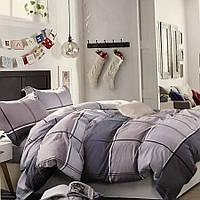 Двуспальное (евро) постельное белье 200х220 Французский лен Prestij Textile 76995