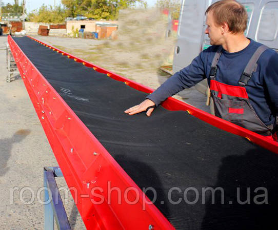Ленточный транспортер (конвейер) ширина 500 мм длинна 6 м.