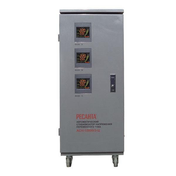 Стабилизатор напряжения Ресанта АСН-15000/3-Ц