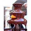 Шоколадный фонтан красный для детских праздников и фуршетов ARIETE 2962