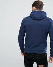Толстовки и свитера мужские Nike Pull Over Hoodie With Swoosh Logo In Blue 804346-451(05-13-05-03) M, фото 3
