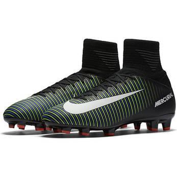 Бутсы пластик детские Детские футбольные бутсы Nike Superfly V FG JR 831943 -013(01 171b2436143
