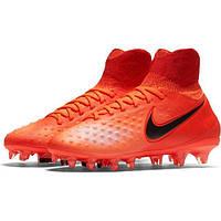 Бутсы пластик детские Детские футбольные бутсы Nike Magista Obra II FG  844410-806 (01 3849458c362