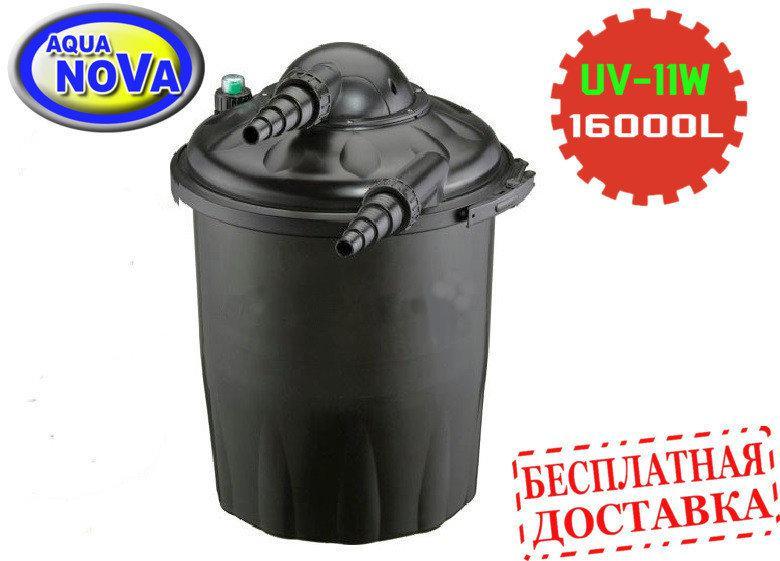 Напорный фильтр для пруда AquaNova NPF-30 с УФ-лампой