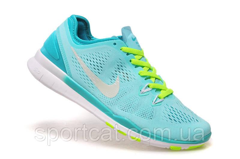 e01ab595 Женские кроссовки Nike Free TR Fit 5, текстиль, бирюза, Р. 36 37 39 ...