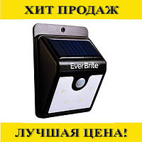 Настенный светильник с датчиком движения Ever Brite на солнечной батареи