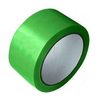 Скотч упаковочный зеленый - 48 мм × 50 м