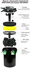 Напорный фильтр AquaNova NBPF-9000 УФ-лампа 11w с обратной промывкой., фото 2