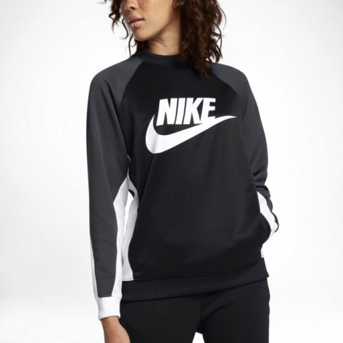 Толстовки и Свитера женские Women's Nike Sportswear Crew 882903-010 (02-05-06-01) L