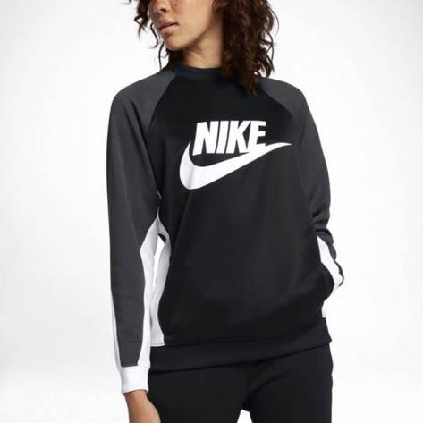 Кофти та светри Women's Nike Sportswear Crew 882903-010 (02-05-06-01) L, фото 2