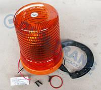 Проблесковый маячок (мигалка) оранжевый стационарный 24V