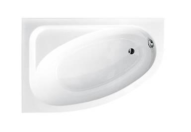 Ванна 140х80 Besco CORNEA ліва (без панелі, ручок, ніжок)