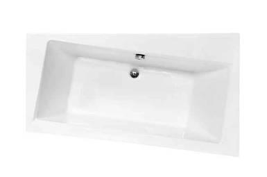 Ванна Besco INFINITY 170*110 права (без панельок, ніжок, сифону)