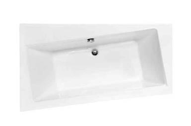 Ванна акрилова Besco INFINITY 170*110 ліва Польща (без панельок, ніжок, ручок)