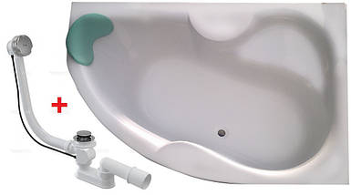 Ванна KOLLER POOL MONTANA 170*105 права + ніжки + сифон