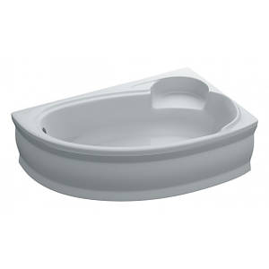 Ванна 170х110 акрилова ADELE ПРАВА + панель + ніжки