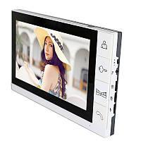Домофон с цветным экраном  с функцией записи видео и фото