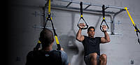 Тренировочные петли TRX FitStudio подвесные многофункциональные , фото 1