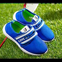 Кроссовки детские BK синие Размер: 31, 35