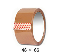 Скотч упаковочный коричневый - 48 мм × 66 м
