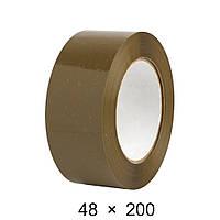 Скотч упаковочный коричневый - 48 мм × 200 м