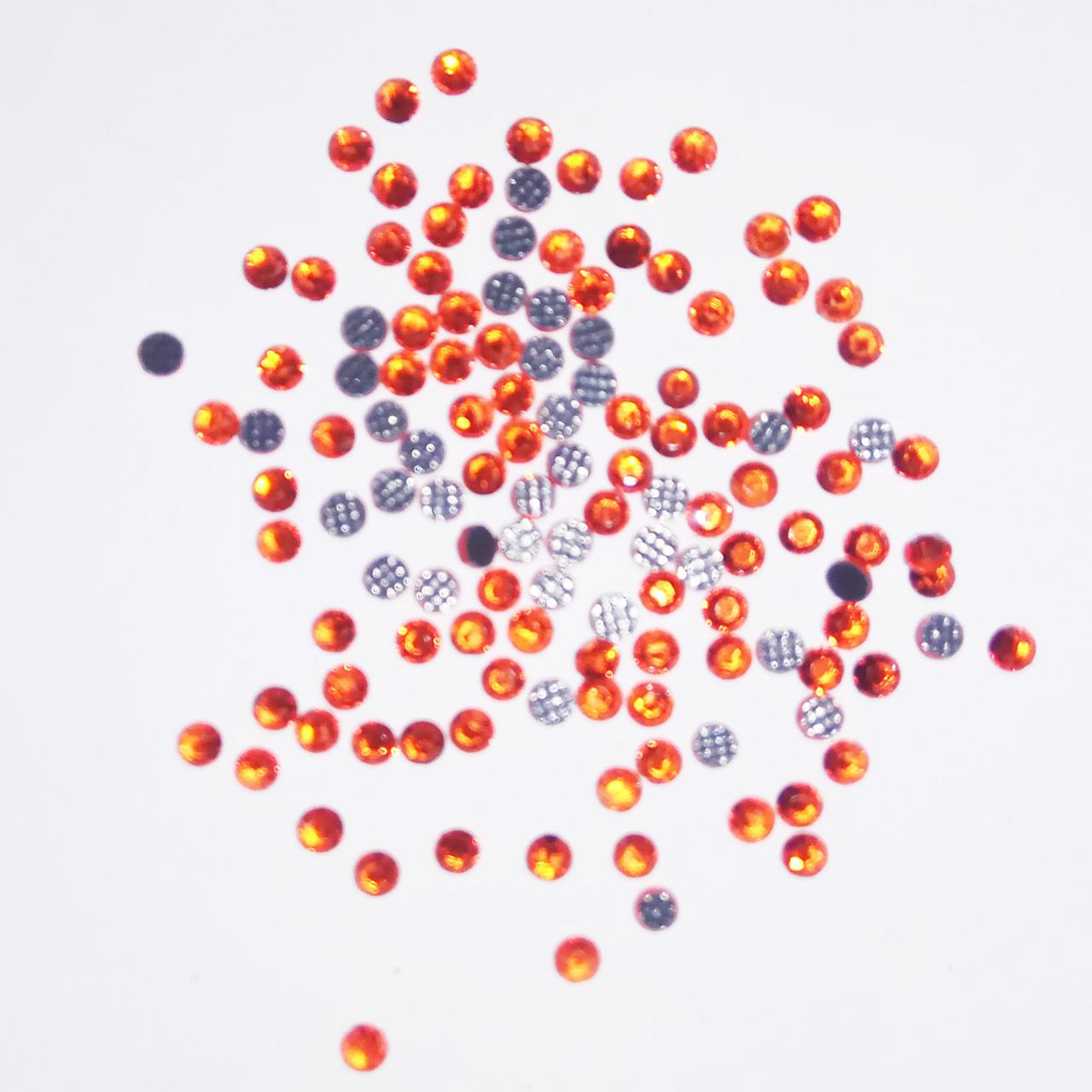 Стразы: оранжевые - ss6