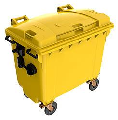 Мусорный бак для ТБО 660л SULO (Германия) Желтый